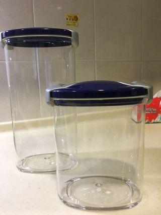 大小收納罐+隨手杯
