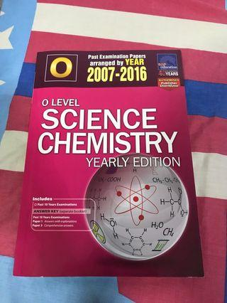 O Level Combined Chemistry TYS (2007-2016)