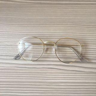 🚚 金色眼鏡