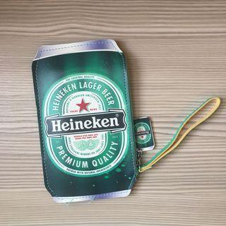 🚚 海尼根手拿包零錢包票卡包