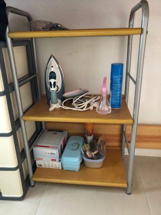 Pricerite wood shelf
