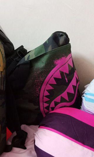 Authentic Sprayground Pink Shark Tote