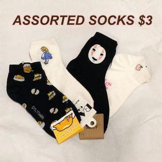 BRAND NEW Korean/Japanese socks