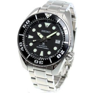*Made in Japan* Seiko Prospex 200M Diver Automatic SBDC031 Black Sumo SBDC031J