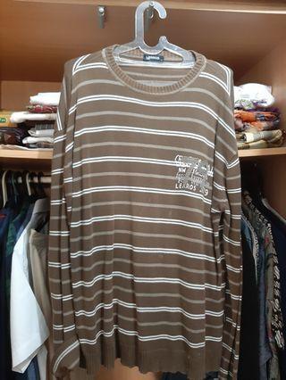 Sweater Hijau 90an a la Kurt Cobai