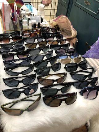 出口防UV眼鏡$10/3付