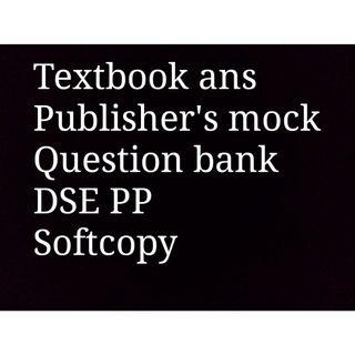 Softcopy of mock and all publishers' resources #newbieApr19