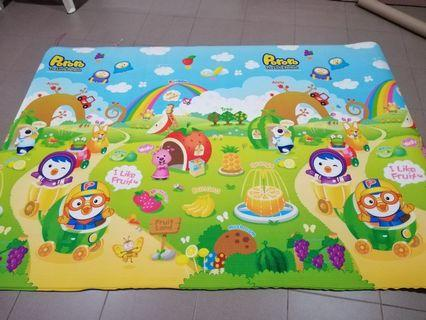 Good condition Pororo Parklon Playmat 190x130x1.2cm
