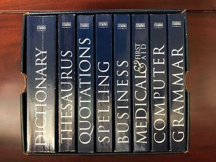Webster's Dictionary thesaurus