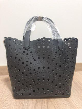 Little Black Tote Bag