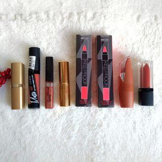 13 pcs Assorted Lippies (New & Used)