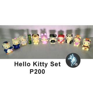 Hello Kitty Small Figurine Collectibles