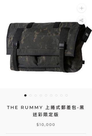 🚚 THE RUMMY 27L 中型郵差包- 黑迷彩限定版 missionworkshop