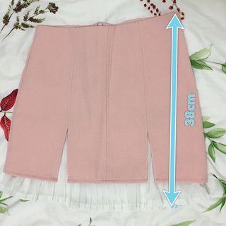 粉色西裝裙