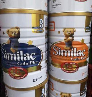 Similac Stage 3/4 w/ FREE DELIVERY