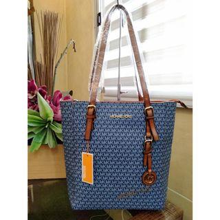 9c8265893071 MK Bag Michael Kors Signature Logo Shoulder Bag Hobo Bag Tote Bag MK Long  Handle Bag