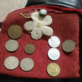 3國菲律賓/印尼/馬來西亞 共9枚 收藏錢幣