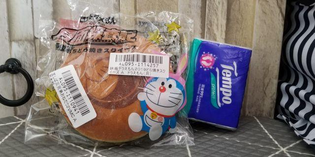 日本 Torbea 景品 叮噹燒餅(月面探查記) 減壓玩具