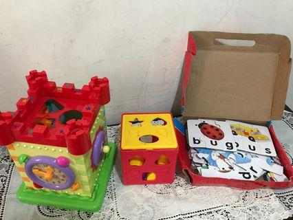 Kids Blocks and spelling toys
