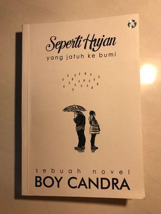 Novel 'Seperti Hujan Yang Jatuh Ke Bumi'