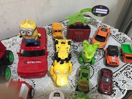 Lots of toys for discount. Reuse recycle go greeen