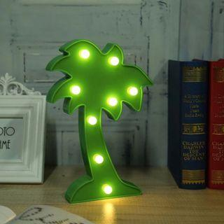 Coconut Tree Table Lamp - Decorative Light