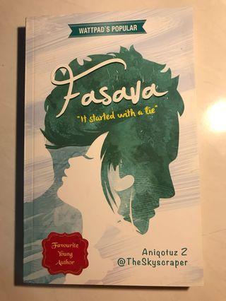 Novel 'Fasava'