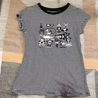🚚 Paul Frank黑白線條條紋t恤