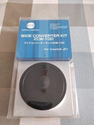 Konica Minolta Wide Converter Kit ZCW-100