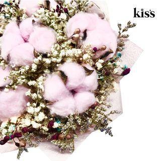 🚚 Pink Cotton Flower Bouquet💐