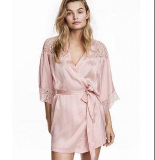 NEW - H&M Pretty Pink Lace Kimono