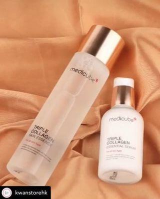 Medicube韓國醫學品牌 Triple Collagen 兩件套裝 #MTRCentral
