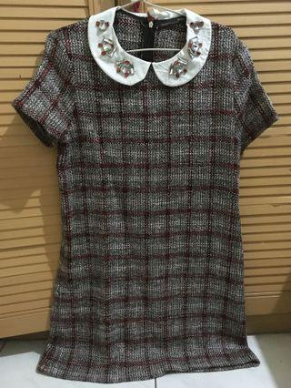 Zara Collar Dress