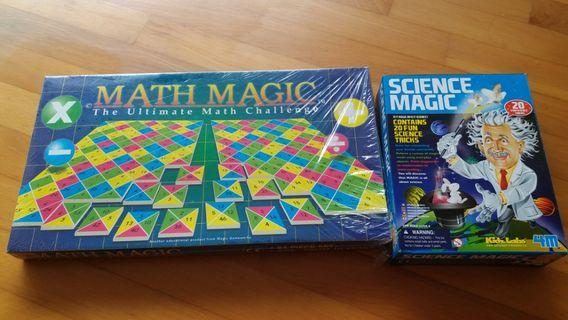 Math and Science Games to clear cheap!