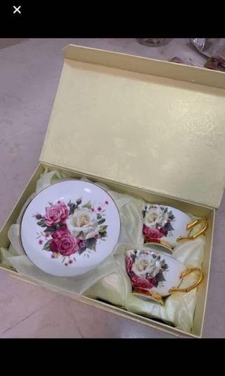 英式花茶杯碟