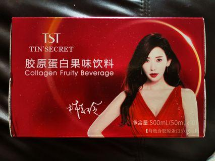 🚚 BN TST TIN'S SECRET collagen fruity drink 50mlx10 (500ml)