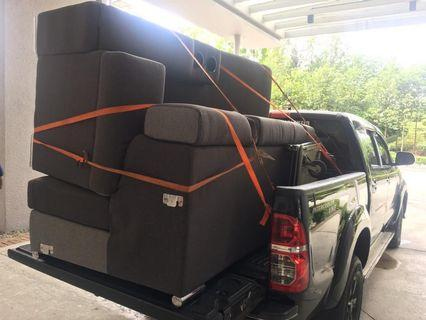 Sofa L mover transporter services