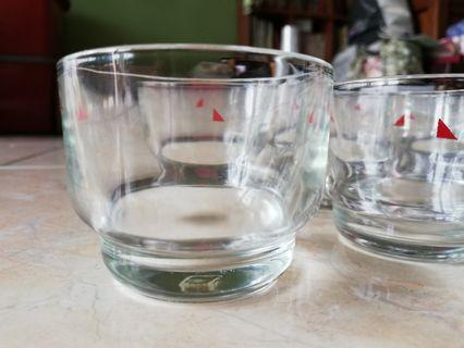 6 pieces of 125ml mini glass cups