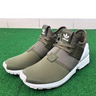 943a8a4a3 Authentic Adidas Originals ZX Flux Plus Olive Green UK8 RARE
