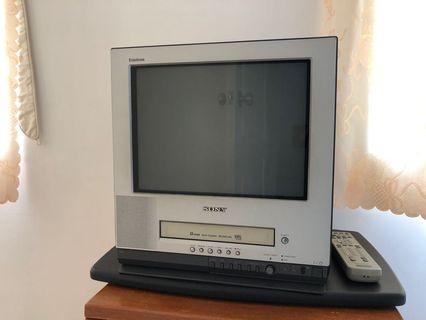 Sony nostalgia TV and video recorder