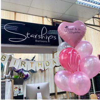 Heart foil with customised wordings