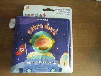🚚 Munchkin Soapy stories ocean and space bath book