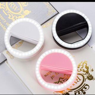 🚚 ⭐現貨⭐ 36顆 LED補光燈 補光神器 電池式 手機自拍燈 美顏 美白 柔膚 補光 打光 增強光源補光燈