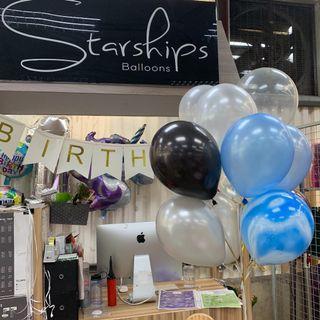 🚚 Helium Balloons (Bundle of 10)