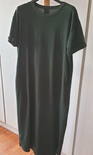 Sugar Cube Green Long Dress