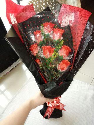 Bouquet bunga ( Buket Bunga )