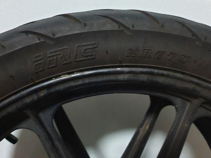 "RXZ RIM ""18 COME WITH TYRE"