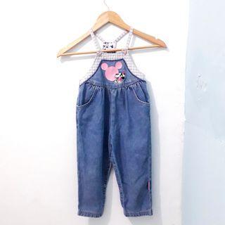 Jumpsuit/Overall/Baju Kodok Jeans Anak