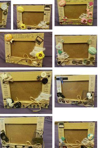 🚚 Display only - handmade photo frames