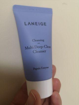 Laneige 深層去角質潔面乳 Multi Deep-Clean Cleanser 30ml
